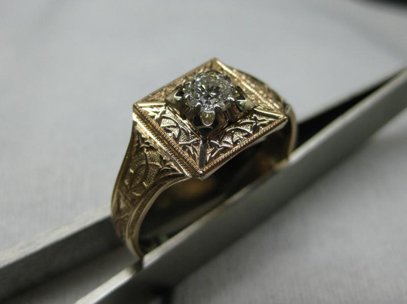 109 золото, бриллиант