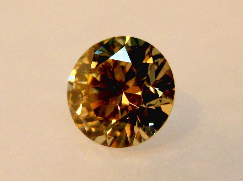 075 коньячный бриллиант