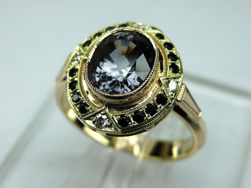 116 золото, бриллианты, шпинель
