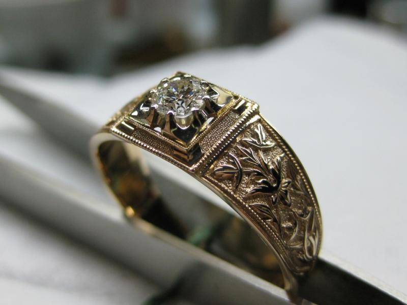 108 золото, бриллиант