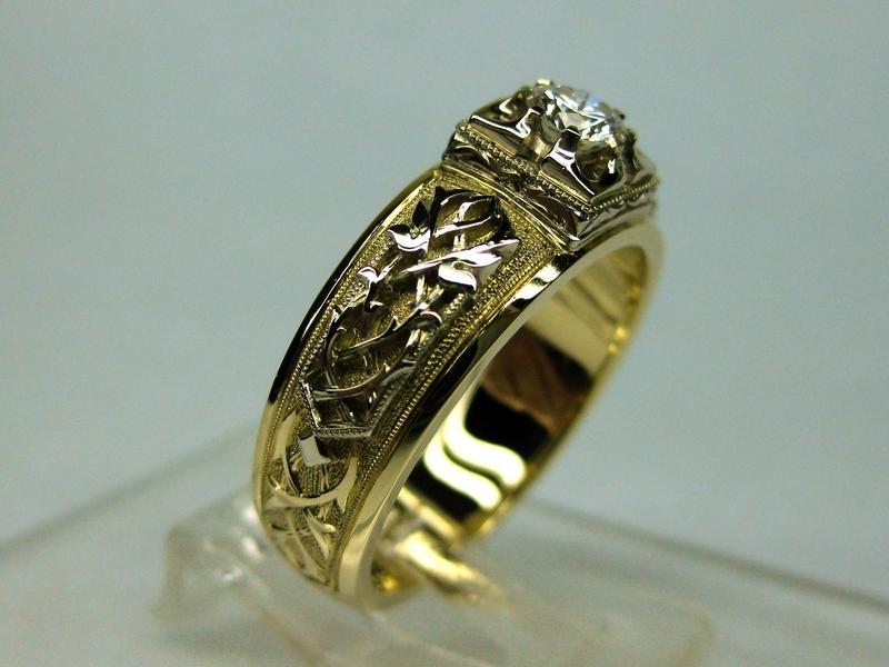 138 золото, бриллиант