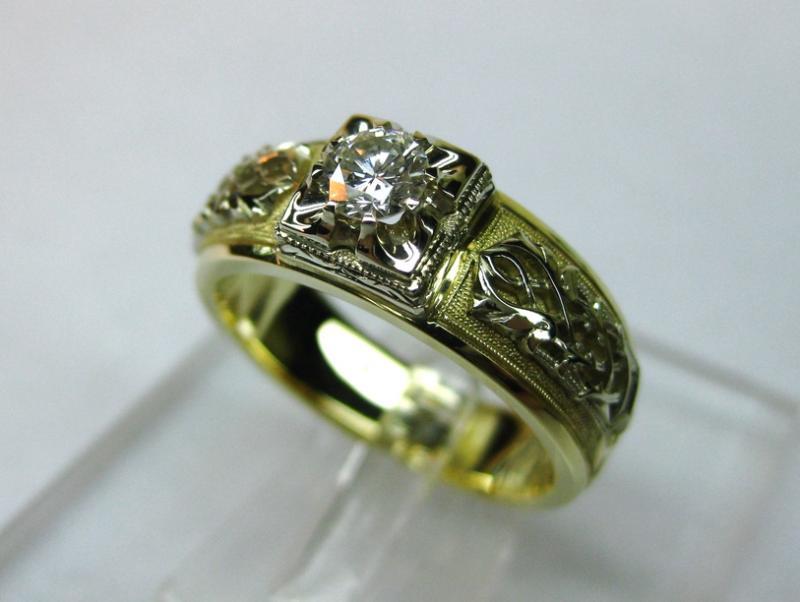 138.2 золото, бриллиант