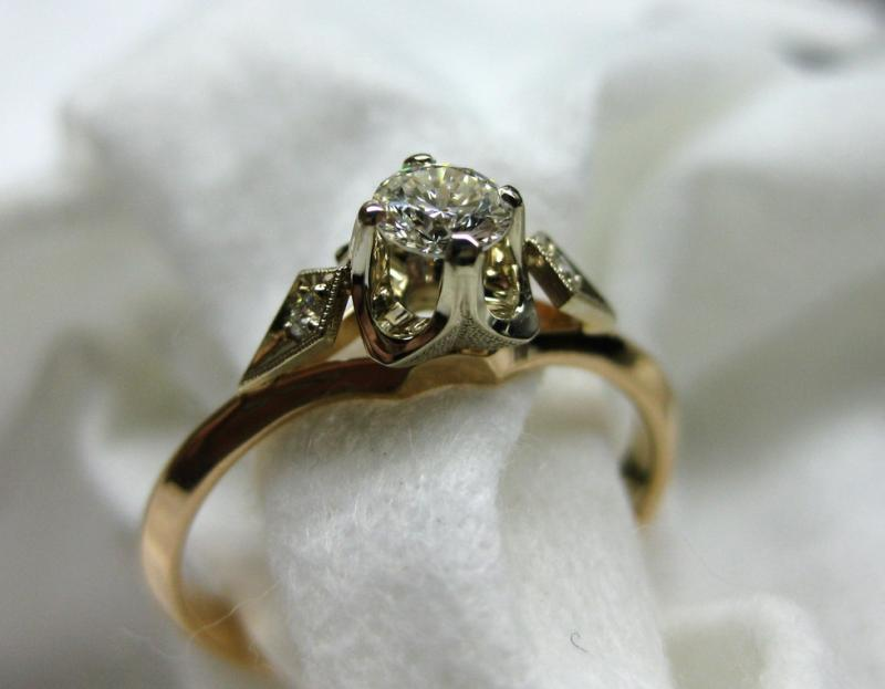105 золото, бриллианты