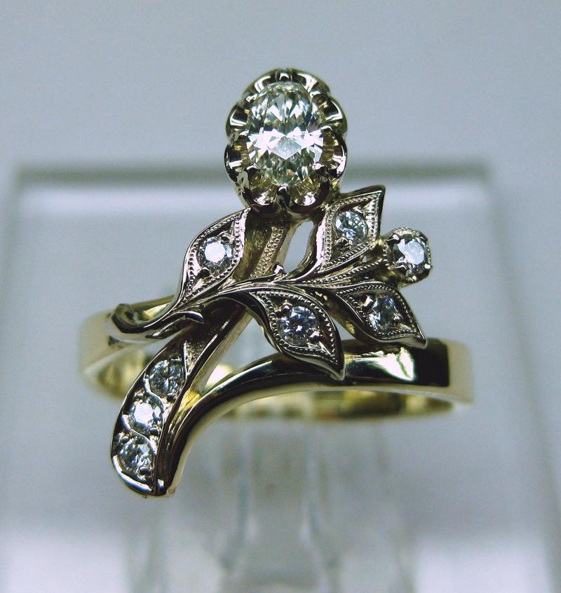 135 золото, бриллианты